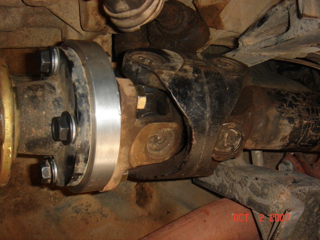 Xterra Sas Front Driveshaft Pirate4x4 Com 4x4 And Off