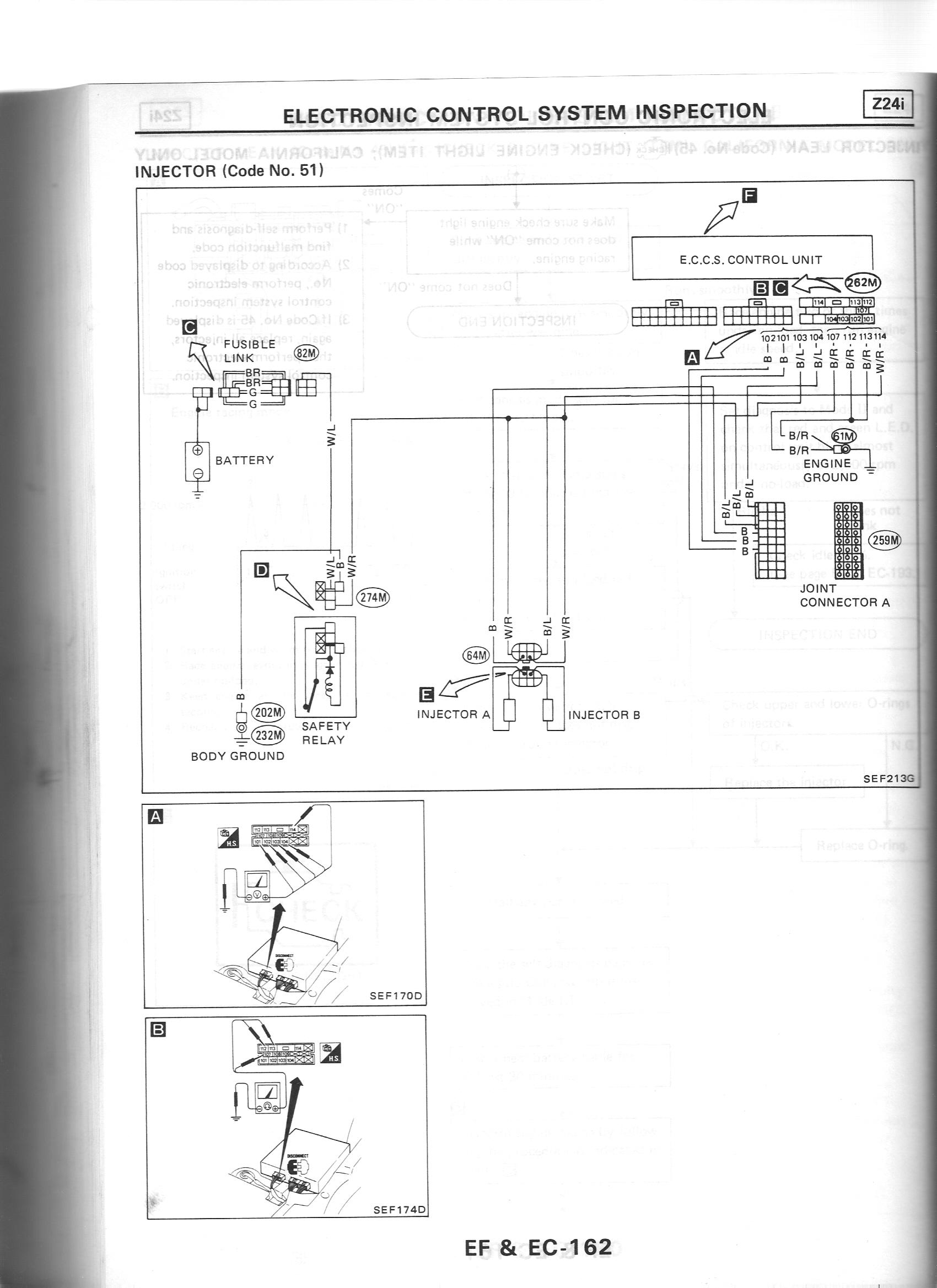 injectors nissan nut Wiring Harness Diagram at bayanpartner.co